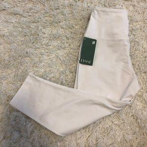 Lyssé White Leggings - Size Small